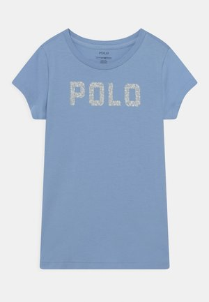 Print T-shirt - chambray blue