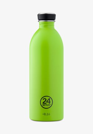 TRINKFLASCHE URBAN BOTTLE CHROMATIC HOT RED - Other accessories - lime green