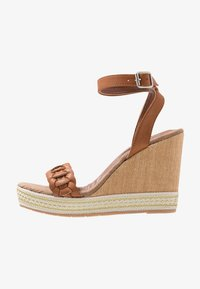 Anna Field - High heeled sandals - cognac - 1