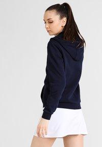 Lacoste Sport - WOMEN TENNIS - Zip-up hoodie - navy blue - 2