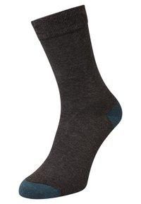 DIM - MIX & MATCH 3 PACK - Ponožky - anthracite canard - 2
