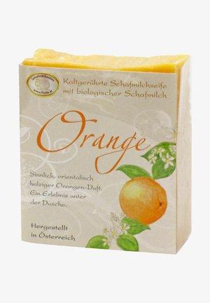 BIO SCHAFMILCHSEIFE ORANGE ZIMT 150 G - Soap bar - -
