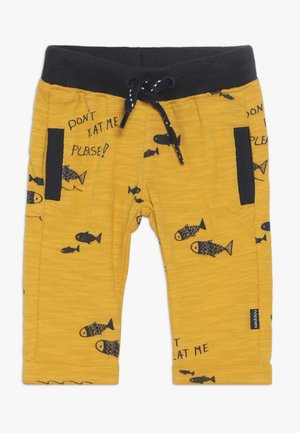 REGULAR FIT PANTS ASHWAUBENON  - Broek - mineral yellow