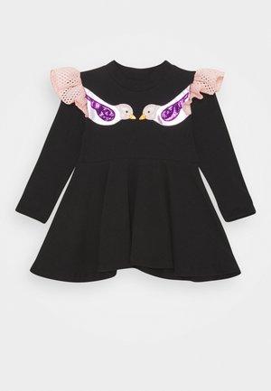 DOMINIKA - Jersey dress - black
