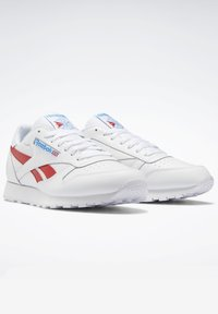 Reebok Classic - CLASSIC LEATHER SHOES - Sneakers laag - white - 5