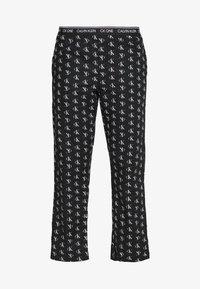 Calvin Klein Underwear - CK ONE WOVENS COTTON SLEEP PANT - Pyjamasbukse - black - 4