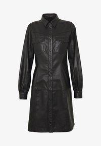 Bruuns Bazaar - PECAN ZADENA DRESS - Košilové šaty - black - 7