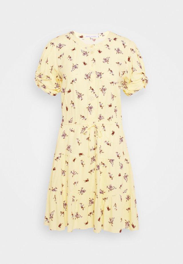 ASTON DRESS - Robe d'été - yellow/multi