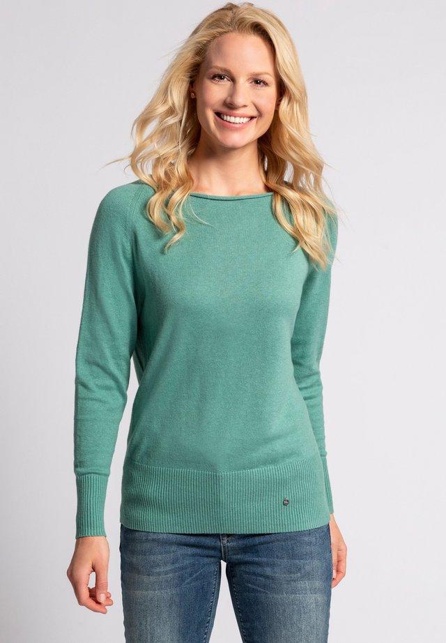 Sweater - distelgrün