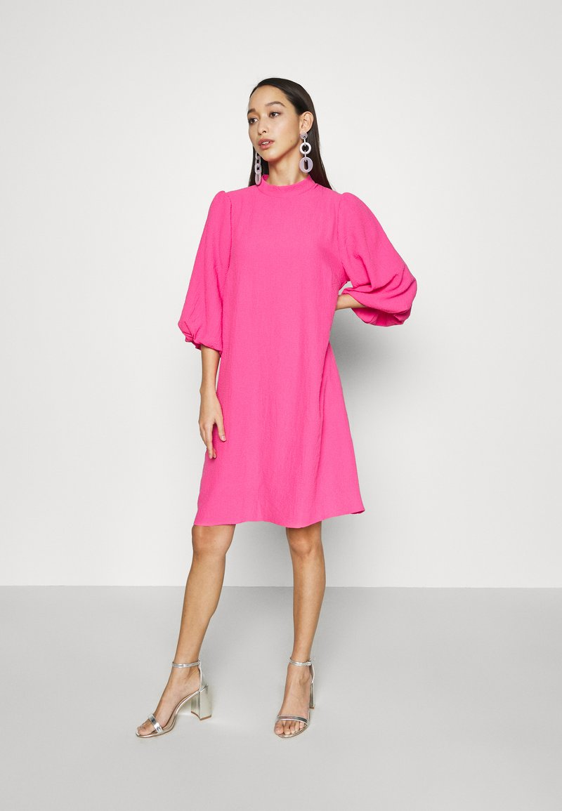 Moves - MOMAJ  - Day dress - orchid pink
