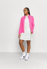 Nike Golf - DRY DOT - Polo shirt - white/black - 1