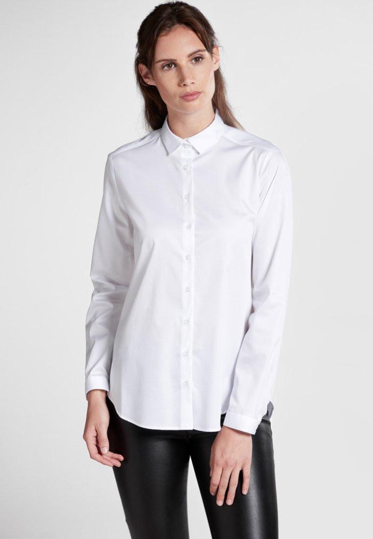 Eterna - MODERN CLASSIC - Button-down blouse - white