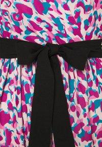 Closet - WRAP GATHERED SKIRT DRESS - Day dress - purple - 2
