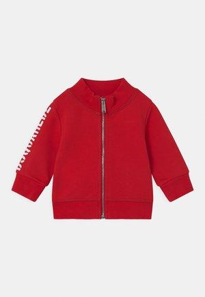 UNISEX - Zip-up sweatshirt - red