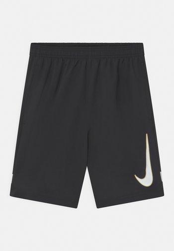 ACADEMY UNISEX - Sports shorts - black/white