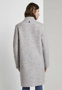 TOM TAILOR - Short coat - mid grey melange - 2