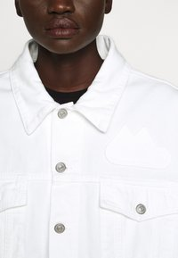 MM6 Maison Margiela - JACKET - Giacca di jeans - off white - 9