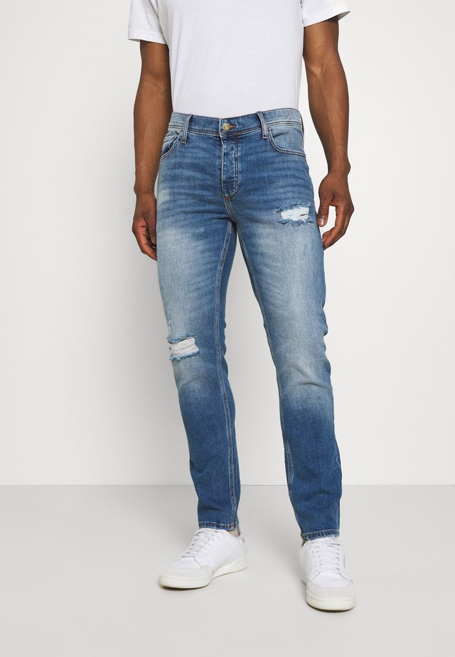 KNOXVILLE RIPS - Jeans slim fit - light blue