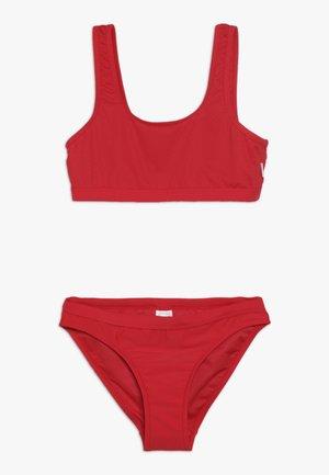 80'S TANKINI SET - Bikiny - ruby red
