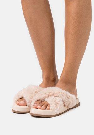 ELLA X STRAP MULE - Pantofle - nude