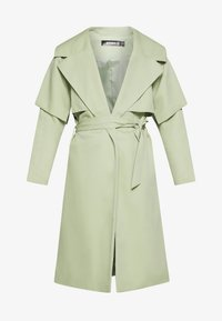 Missguided - WATERFALL COAT - Trench - mint - 4
