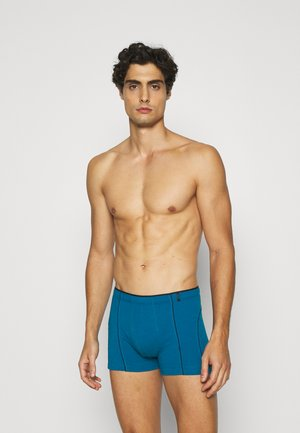 2 PACK  - Pants - dark green/blue