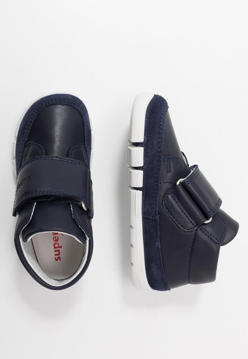 Superfit - FLEXY - Baby shoes - blau