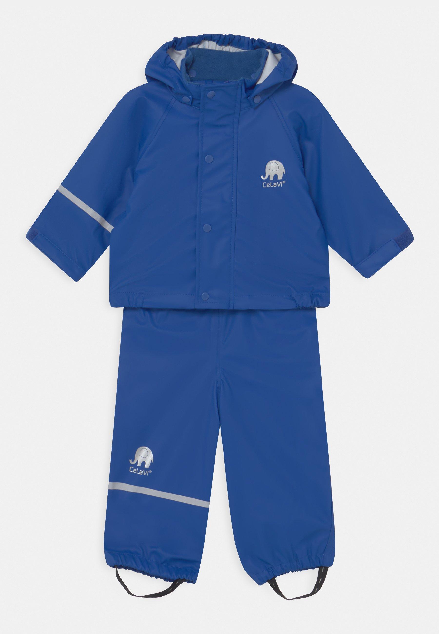 Kids BASIC RAINWEAR SOLID SET UNISEX - Waterproof jacket