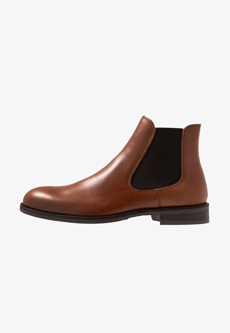 Selected Homme - SLHLOUIS CHELSEA BOOT  - Classic ankle boots - cognac