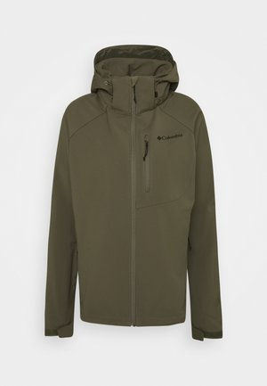 CASCADE RIDGE  - Soft shell jacket - stone green