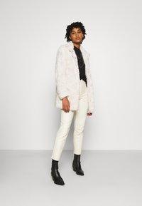 Vero Moda - VMCURL HIGH NECK JACKET - Winter coat - birch - 1