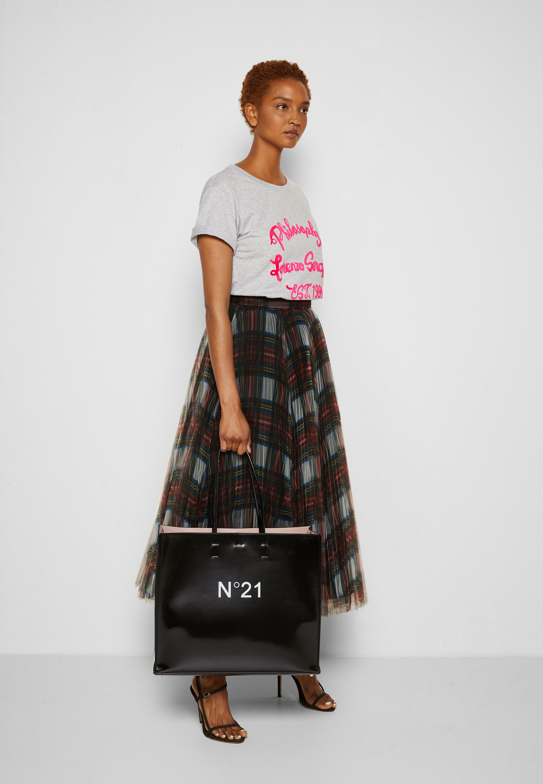 Women MAXI SHOPPING ORIZZONTALE KORAM - Tote bag