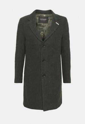 SINGLE BLEND OVERCOAT - Klassinen takki - evergreen