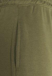 Missguided Tall - CROP ZIP HOODY JOGGER SET - Zip-up hoodie - khaki - 6