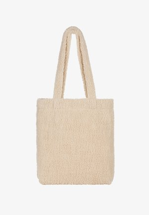 BEUTEL TEDDY - Tote bag - off white