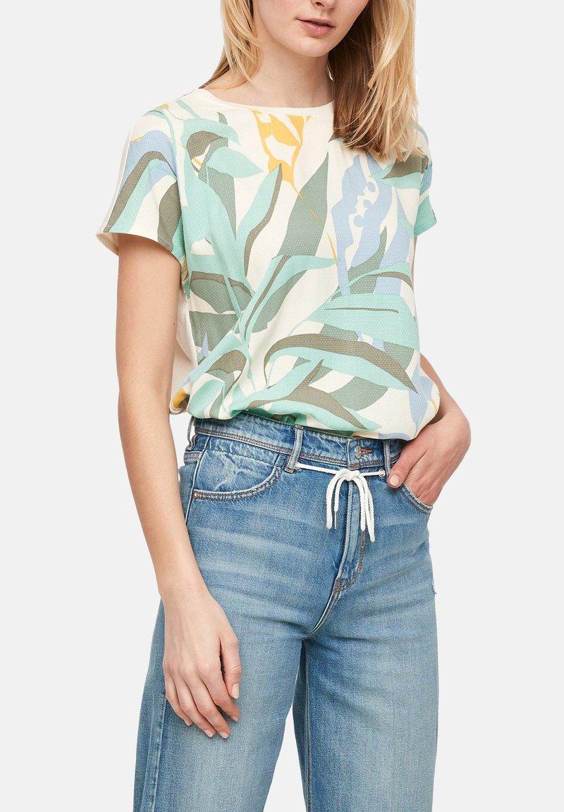 s.Oliver - Print T-shirt - mint