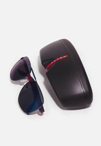 Prada Linea Rossa - Sunglasses - matte navy - 3