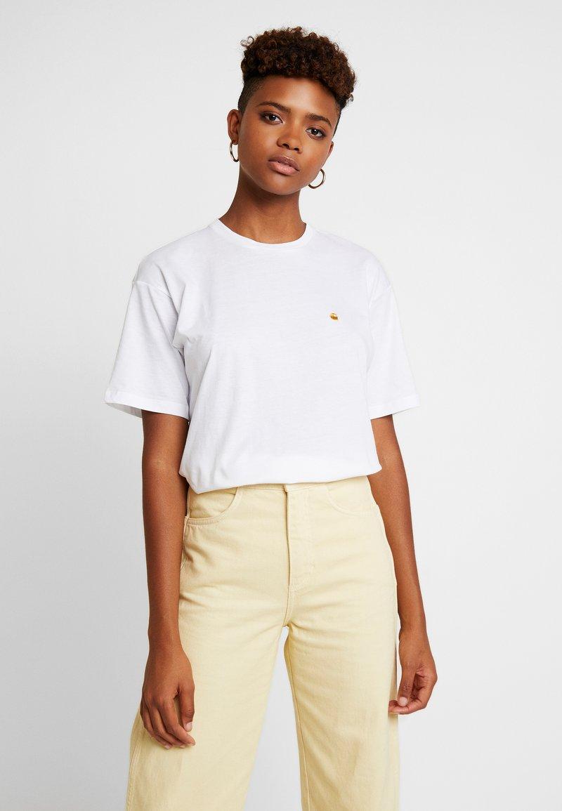 Carhartt WIP - CHASY - Basic T-shirt - white