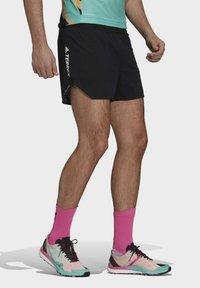 adidas Performance - Agravic PRO SHORT TECHNICAL AEROREADY TRAIL RUNNING SHORTS - Shorts - black - 4