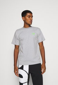 GCDS - BASIC TEE - Basic T-shirt - grey - 0