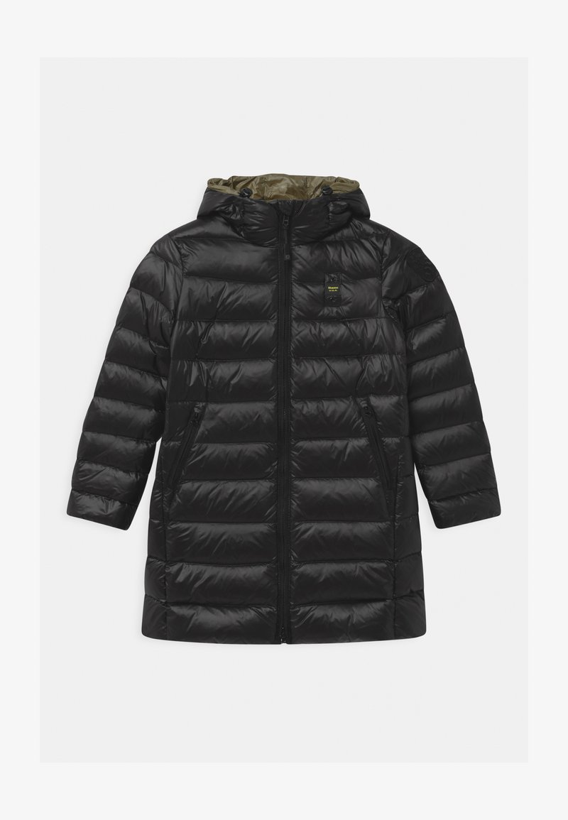 Blauer - IMPERMEABILE TRENCH LUNGHI - Down coat - black