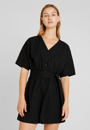 TONYA PLAYSUIT UNIQUE  - Combinaison - black