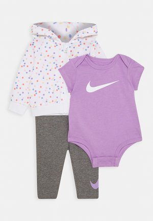 DOT BODYSUIT SET - Triko s potiskem - carbon heather