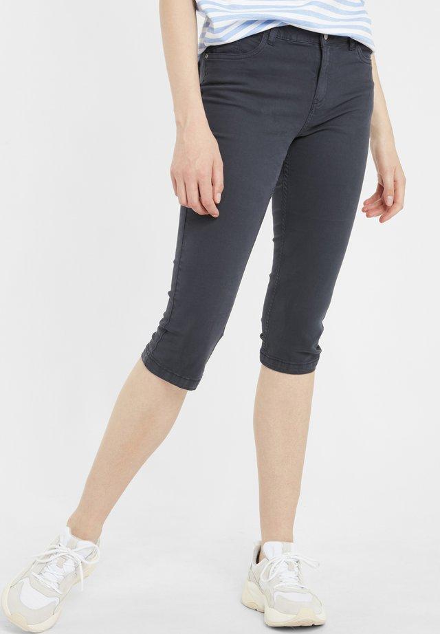 BYLOLA BYLIKKE CAPRI - Shorts di jeans - copenhagen night