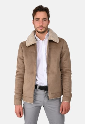 Light jacket - gray taupe