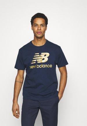 ATHLETICS SELECT PODIUM - Marškinėliai su spaudiniu - dark blue