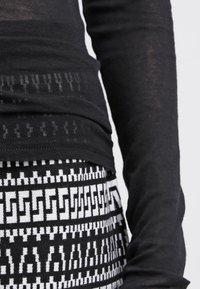 American Vintage - MASSACHUSETTS TURTLE NECK - Long sleeved top - noir - 6
