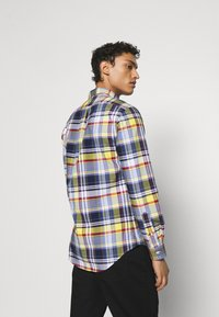 Polo Ralph Lauren - SLIM FIT PLAID OXFORD SHIRT - Shirt - yellow/blue multi - 2