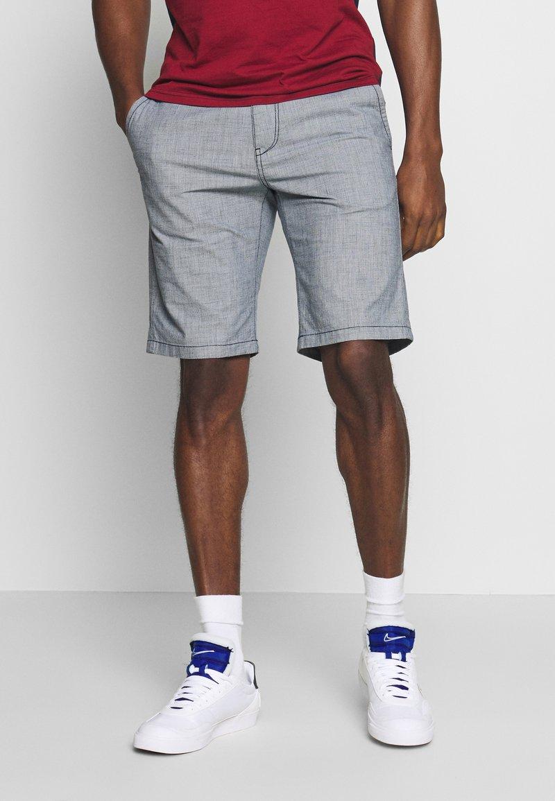 TOM TAILOR DENIM - Shorts - mottled light blue