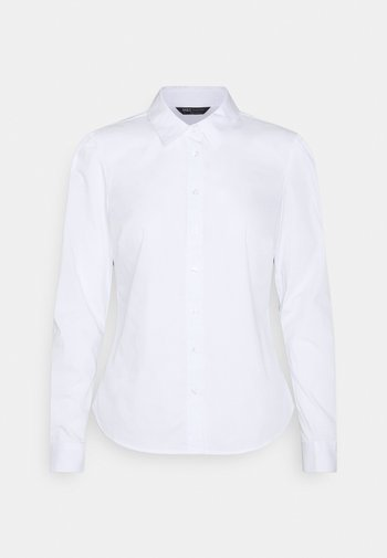 PUFF FITTED  - Button-down blouse - white